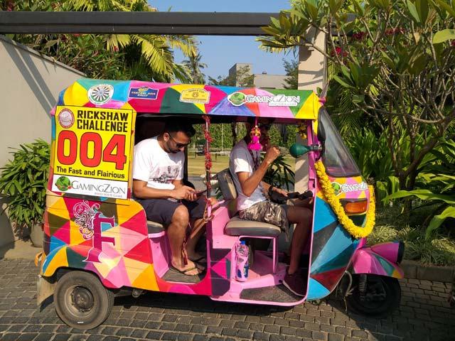 rickshaw challenge malabar rampage 2019